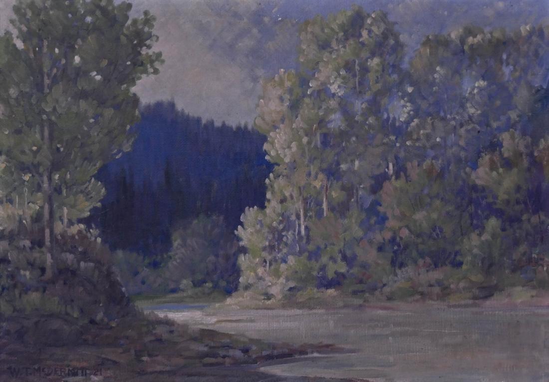 William McDermitt (1884-1961 California) River Scene