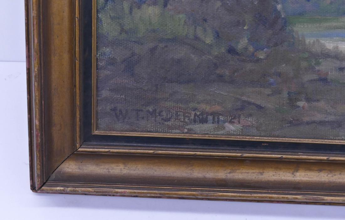 William McDermitt (1884-1961 California) River Scene - 3