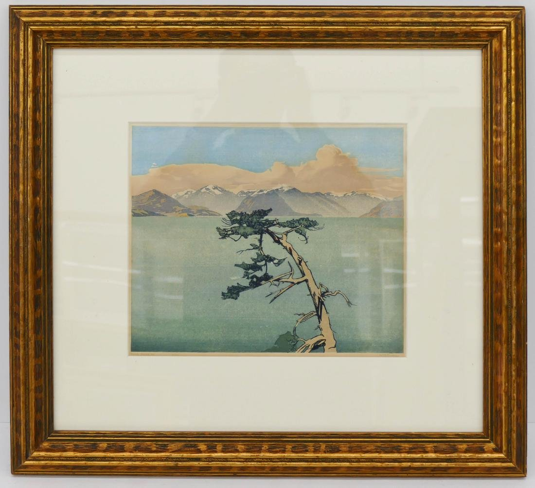 Walter Joseph Phillips (1884-1963 Canadian) ''Howe - 2