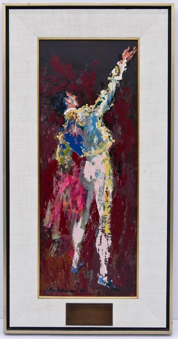 LeRoy Neiman (1921-2012 New York) ''Matador'' 1960 Oil - 2