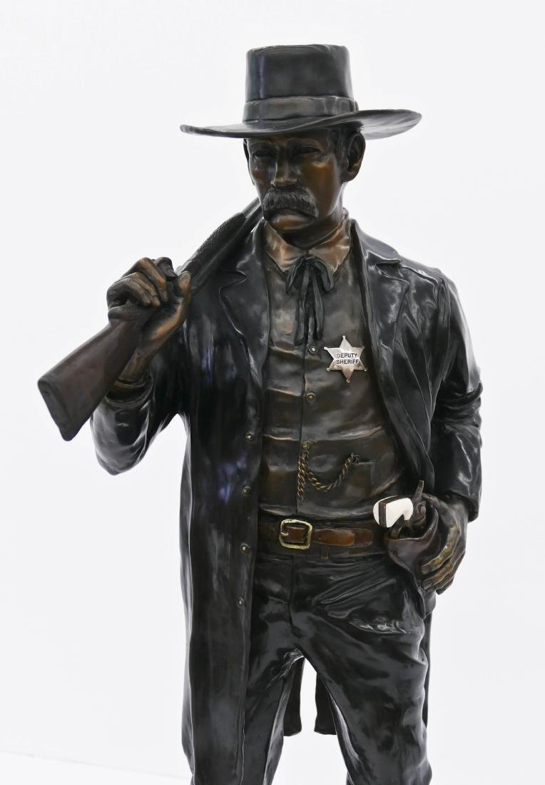 Robert Broshears (b.1934 Washington) ''Wyatt Earp'' - 2