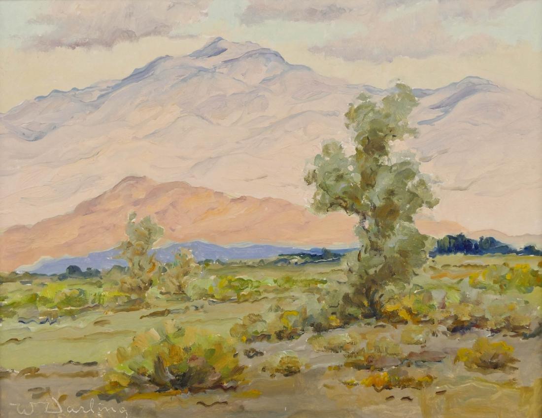 William Darling (1882-1963 California) Desert Landscape