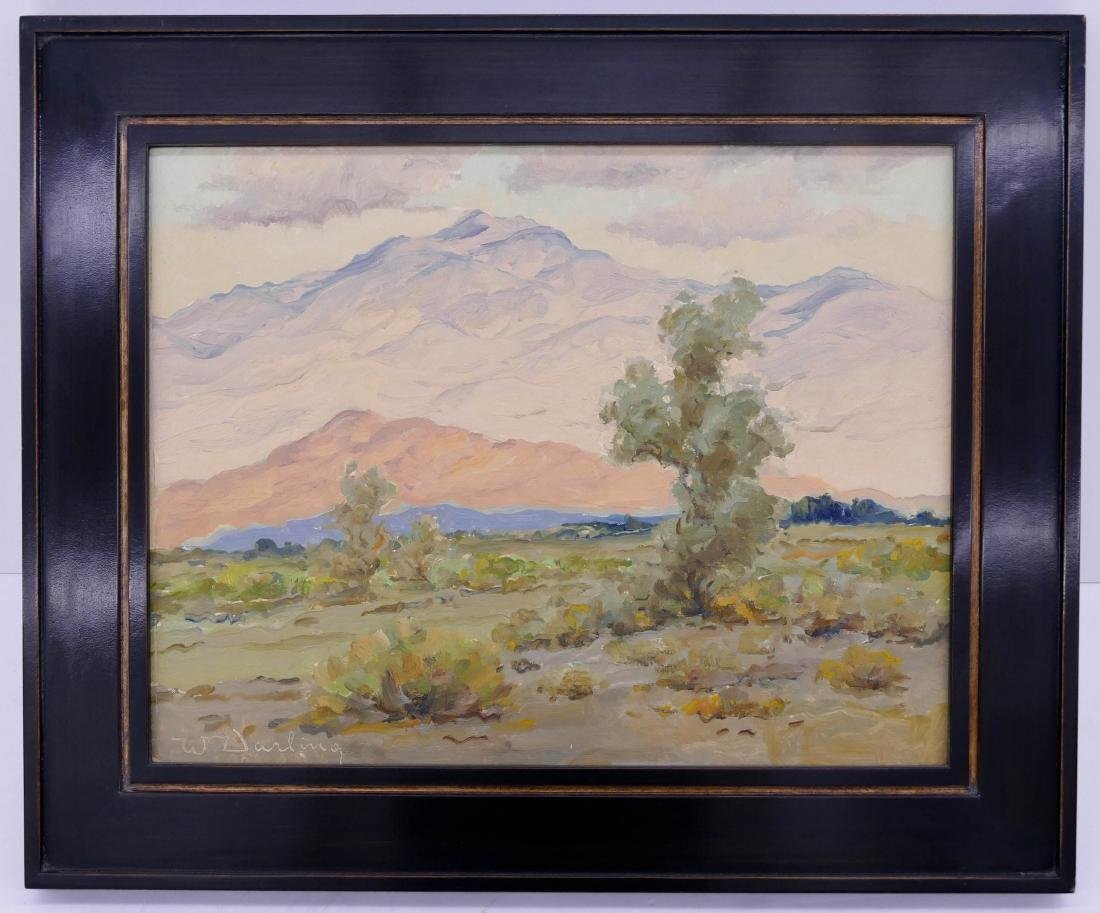 William Darling (1882-1963 California) Desert Landscape - 2