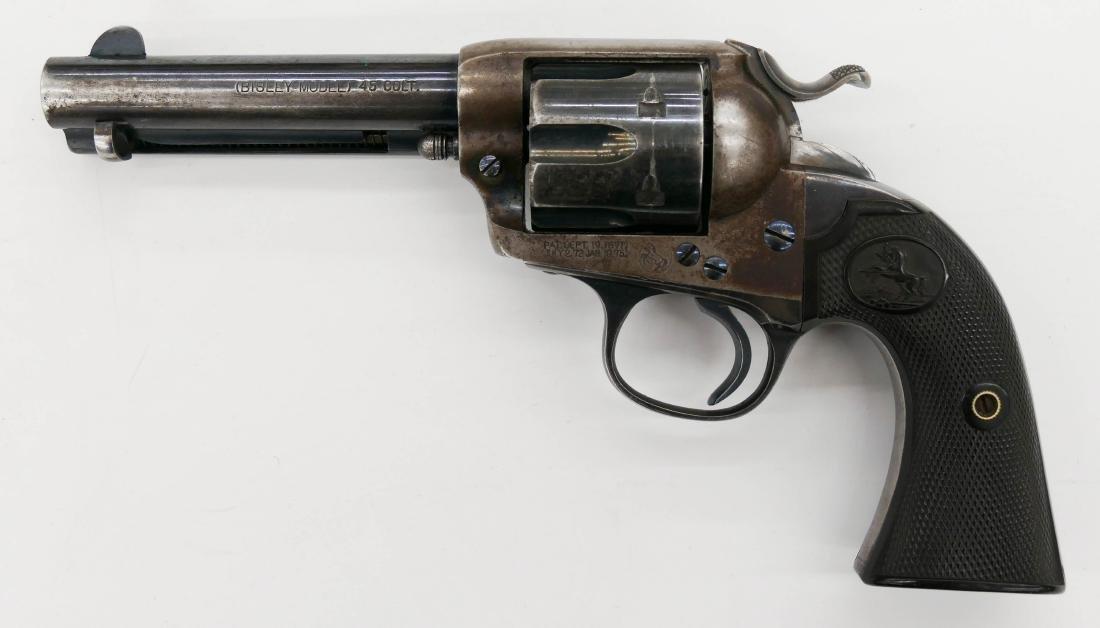 Colt Bisley Model .45 Single Action Revolver Pistol
