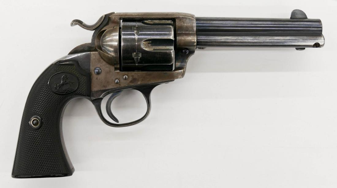 Colt Bisley Model .45 Single Action Revolver Pistol - 2