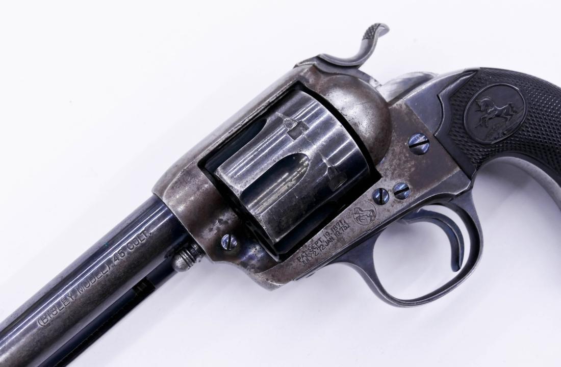 Colt Bisley Model .45 Single Action Revolver Pistol - 3
