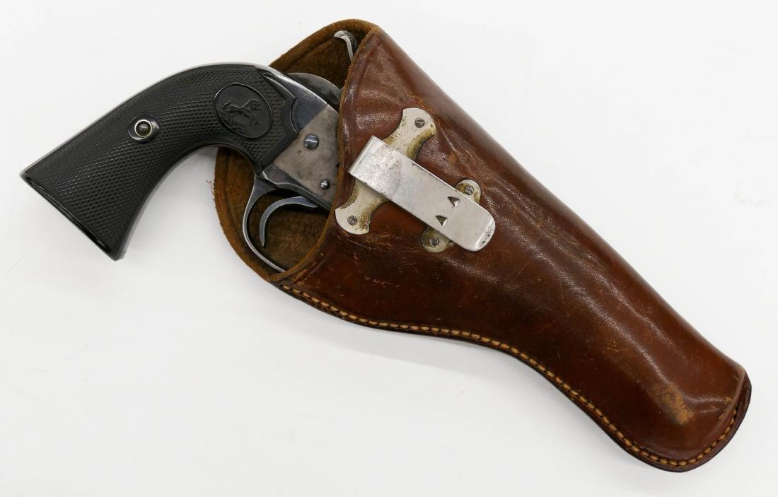Colt Bisley Model .45 Single Action Revolver Pistol - 4