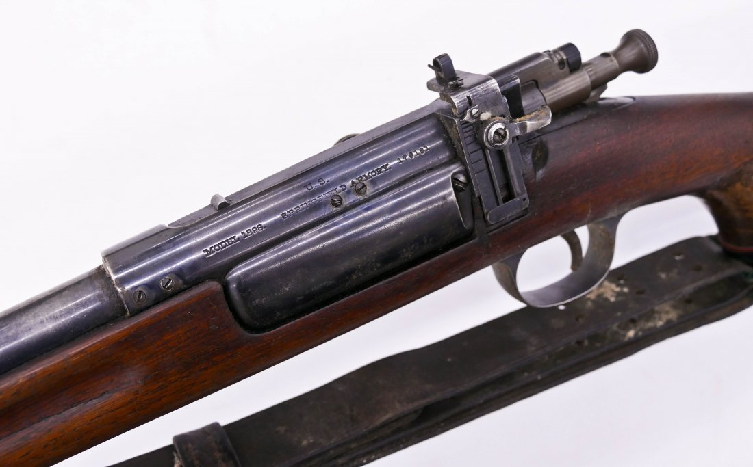US Springfield Armory Model 1898 Bolt Action Rifle - 2