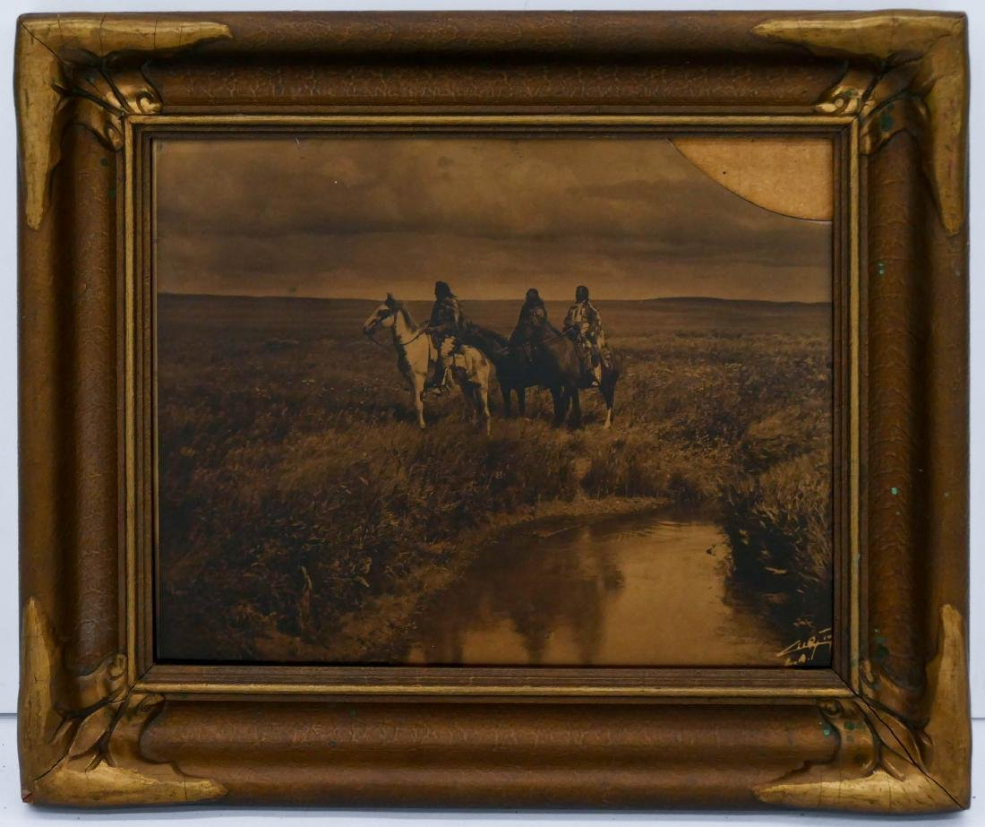 Edward Curtis (1868-1952 Washington) ''Three Chiefs''