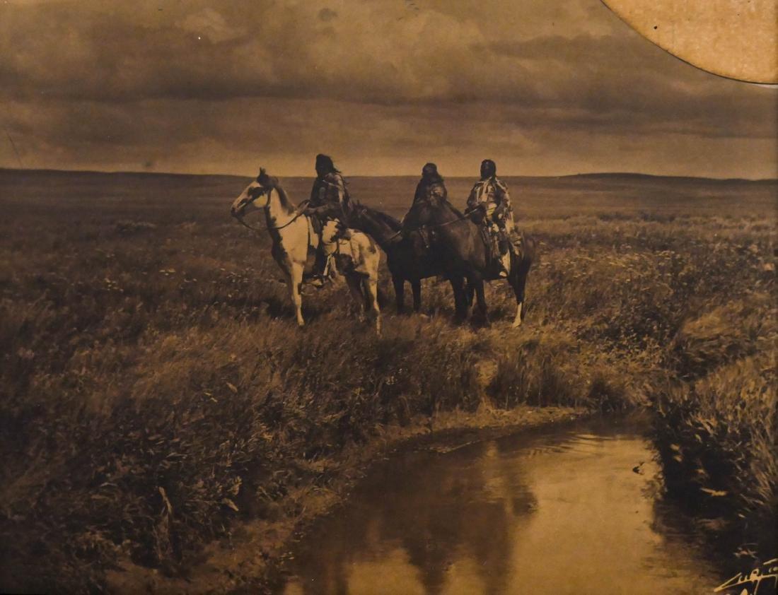 Edward Curtis (1868-1952 Washington) ''Three Chiefs'' - 2