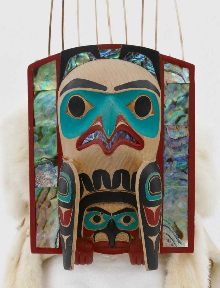 David Boxley (b.1952 Tsimshian) Eagle Frontlet 2001