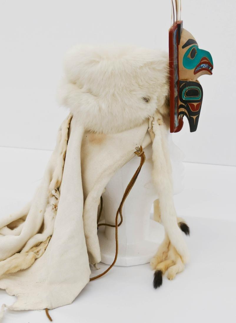 David Boxley (b.1952 Tsimshian) Eagle Frontlet 2001 - 3