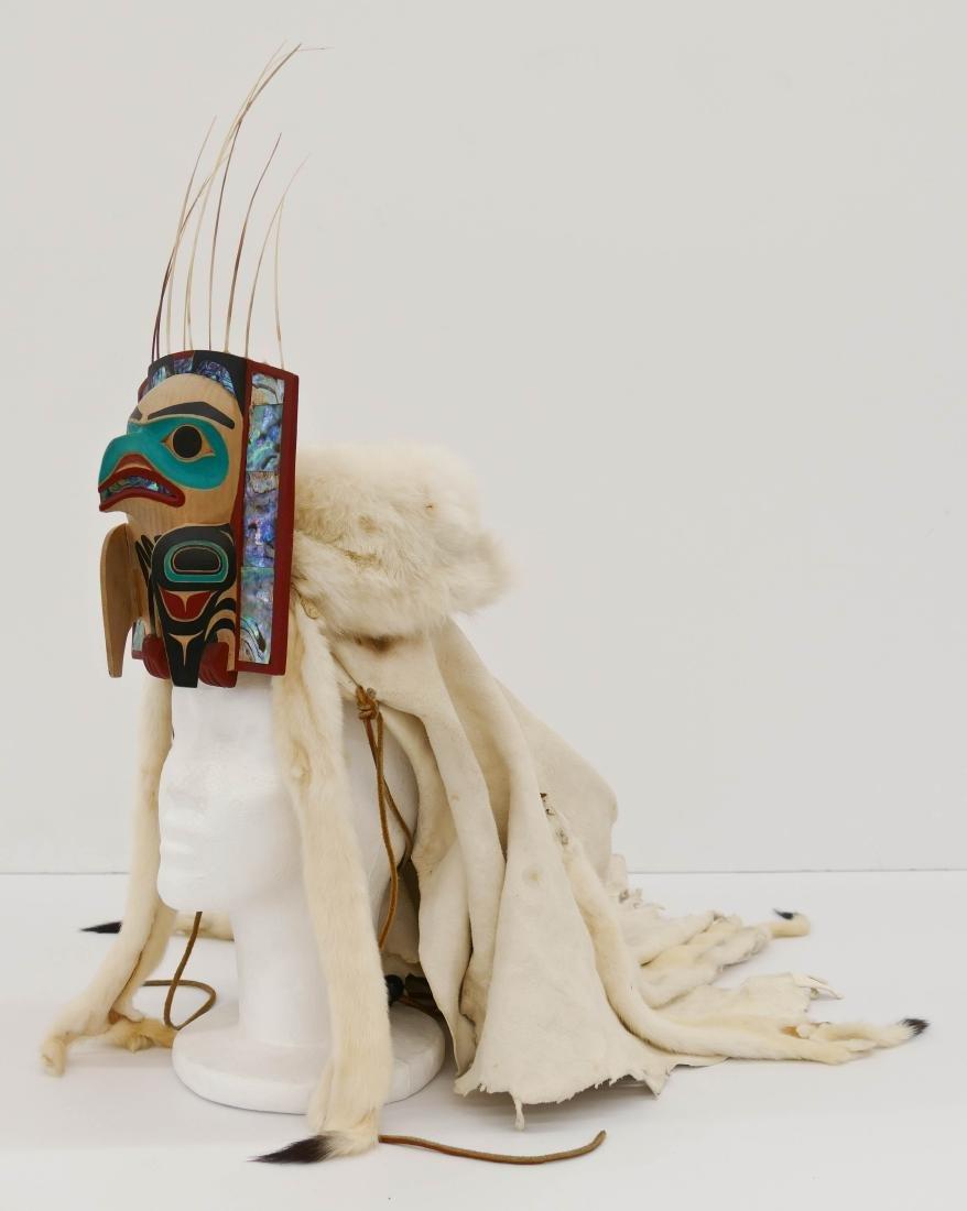 David Boxley (b.1952 Tsimshian) Eagle Frontlet 2001 - 4