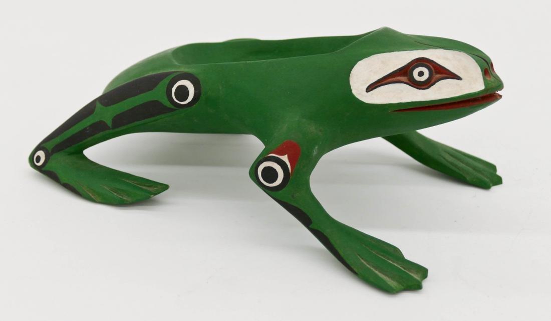 Bobby Cranmer (20/21st Cent. Kwakwaka'wakw) Frog Grease