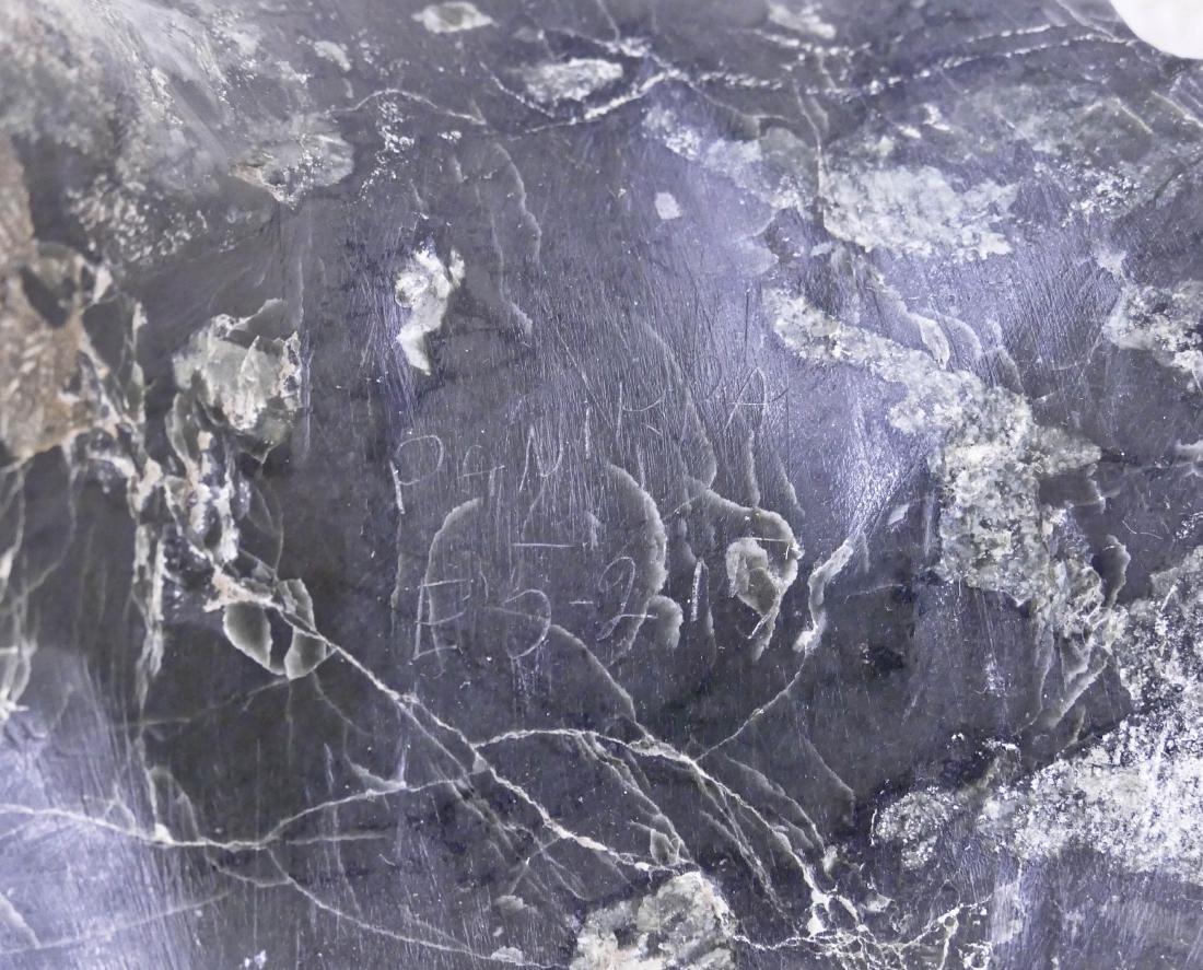 Panikpa (20th Cent. Inuit) Large Bird Carved Hardstone - 4