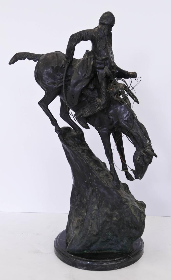 After Frederic Remington ''Mountain Man'' Bronze