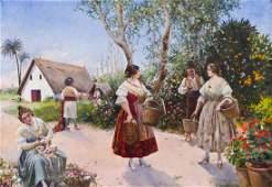 Honorio Romero Orozco (1867-1920 Spanish) Untitled