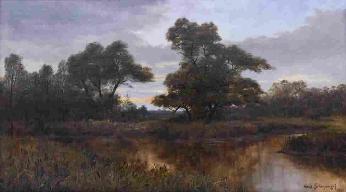 Charles Schreyvogel (1861-1912 American) Untitled