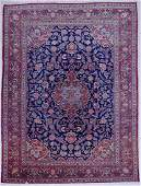 Semi Antique Kashan Oriental Room Size Rug 9x129 A