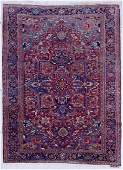 Semi Antique Heriz Oriental Rug 78x11 A persian