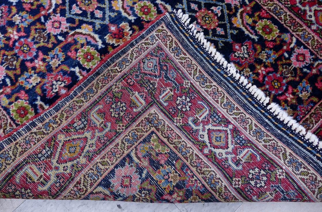 Semi Antique Persian Runner Oriental Rug 3'6''x14'6''. - 3