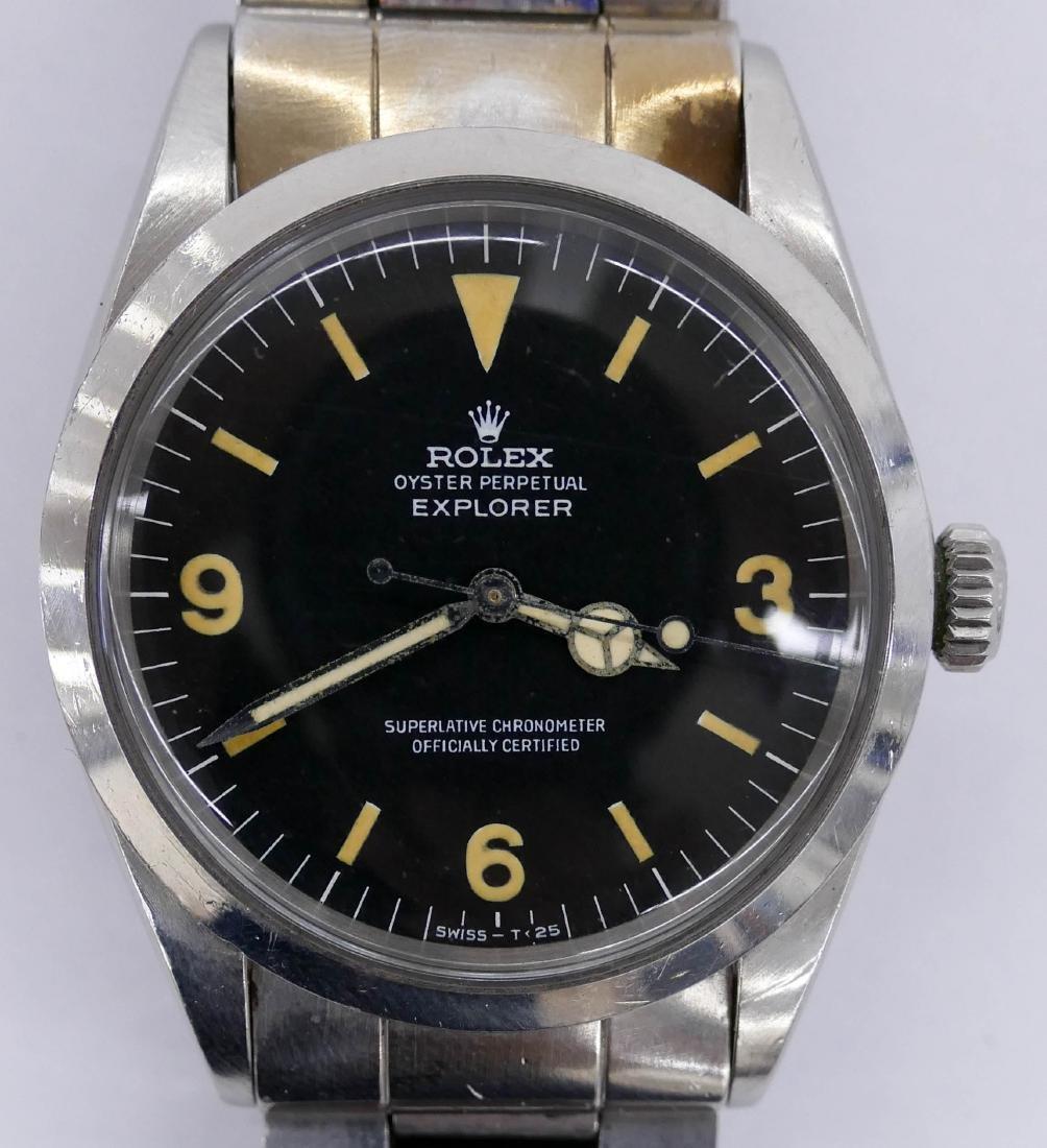 Vintage Men's Rolex Explorer Ref. 1016 Wrist Watch.