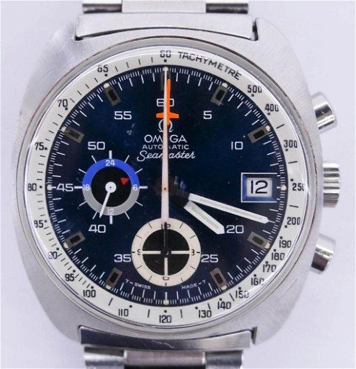 Vintage Omega Seamaster 176 007 Chronograph Wrist Oct 04 2018