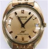 Vintage Longines UltraChron Gold Filled Wrist Watch