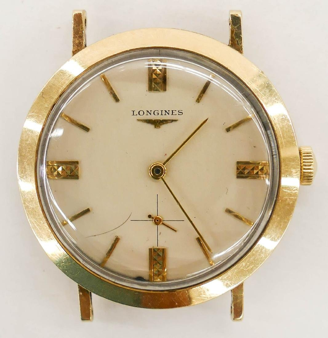 Vintage Longines 14k Gold Wrist Watch. Automatic 17