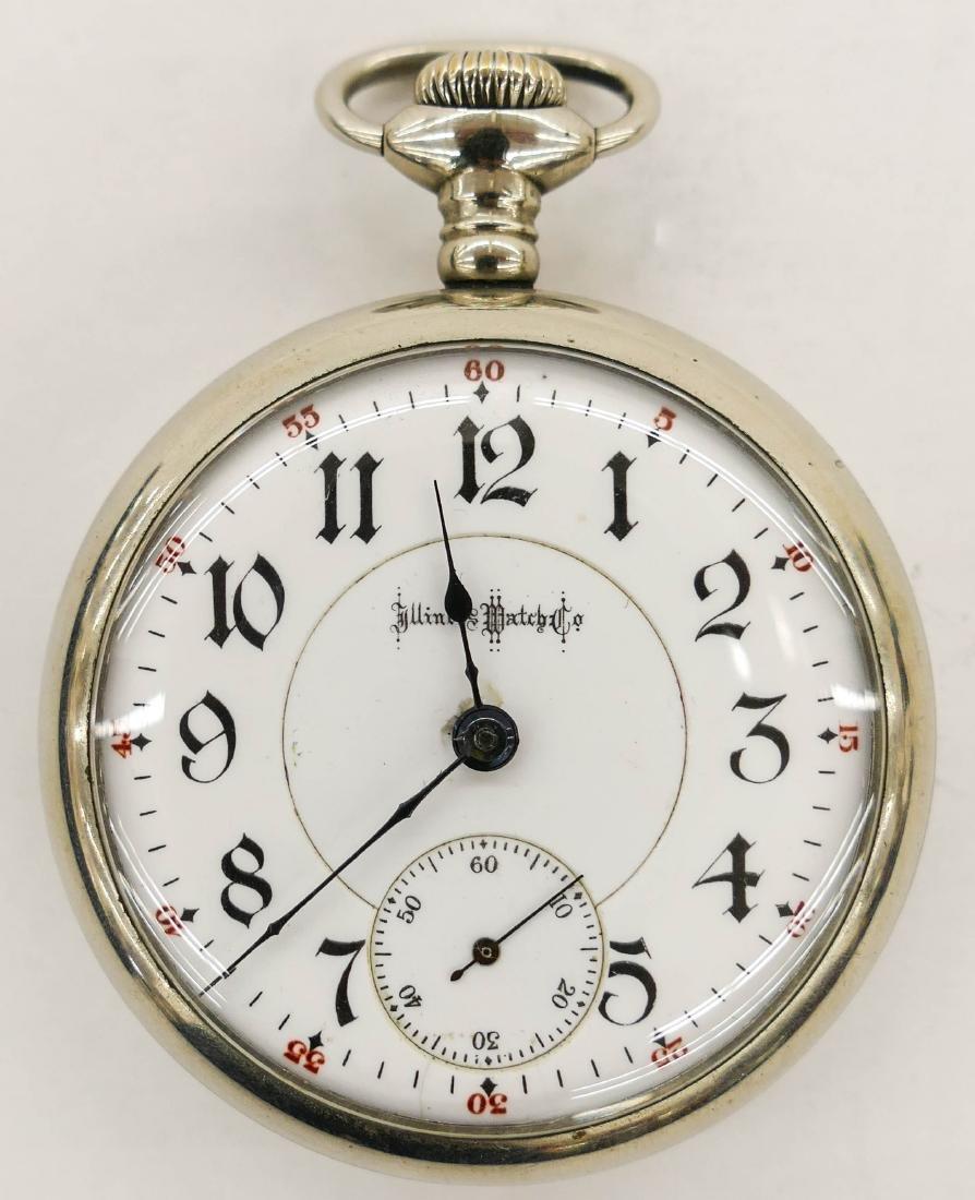 Illinois Bunn Special 24 Jewel Railroad Pocket Watch