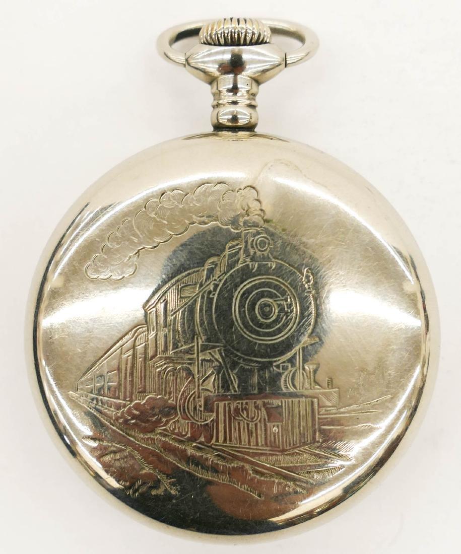 Illinois Bunn Special 24 Jewel Railroad Pocket Watch - 2