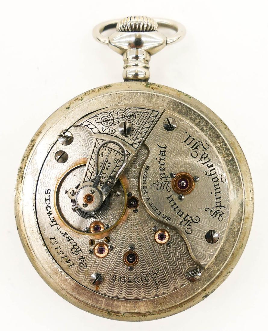 Illinois Bunn Special 24 Jewel Railroad Pocket Watch - 3