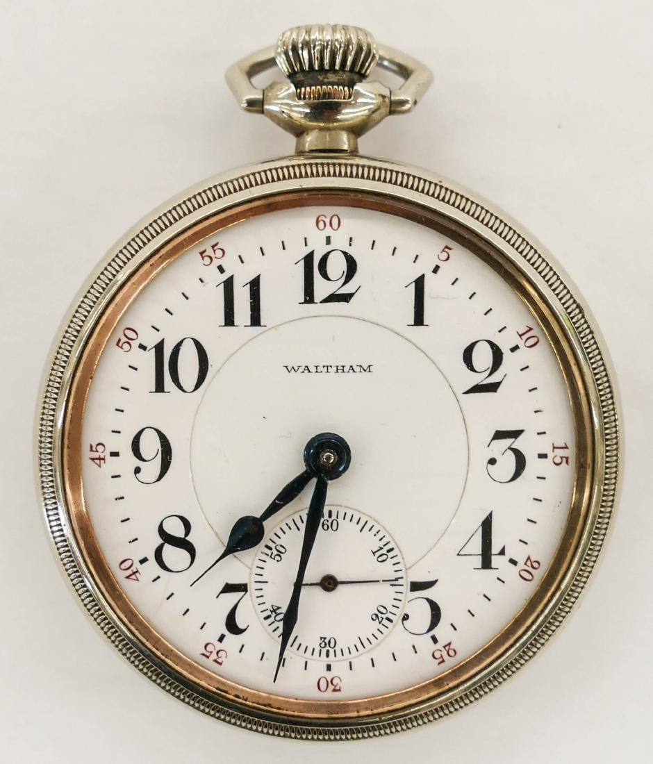 Waltham Vanguard 19 Jewel Pocket Watch Size 18s. Serial