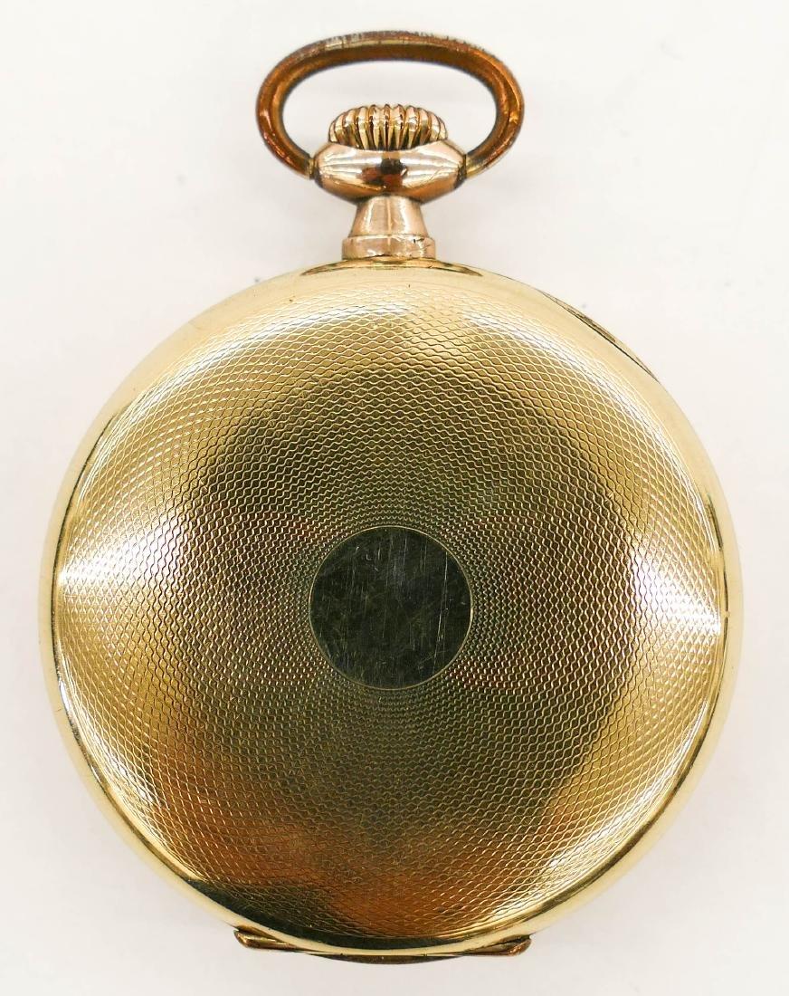 Omega 15 Jewel Gold Filled Pocket Watch. Serial number - 2