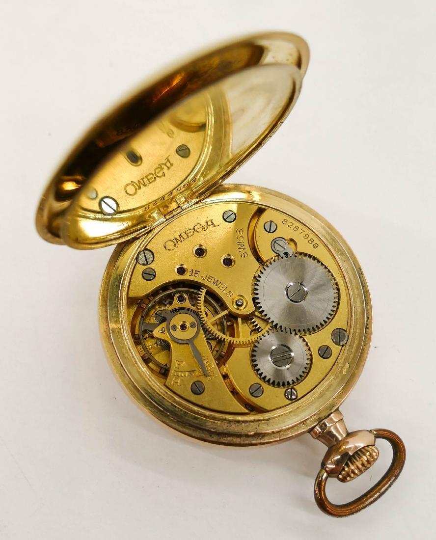 Omega 15 Jewel Gold Filled Pocket Watch. Serial number - 3