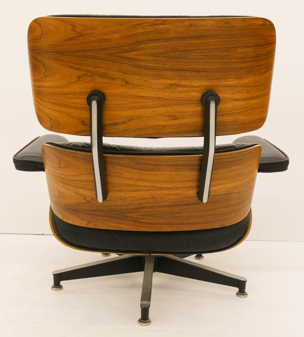 Eames for Herman Miller Rosewood Lounge Chair & - 3