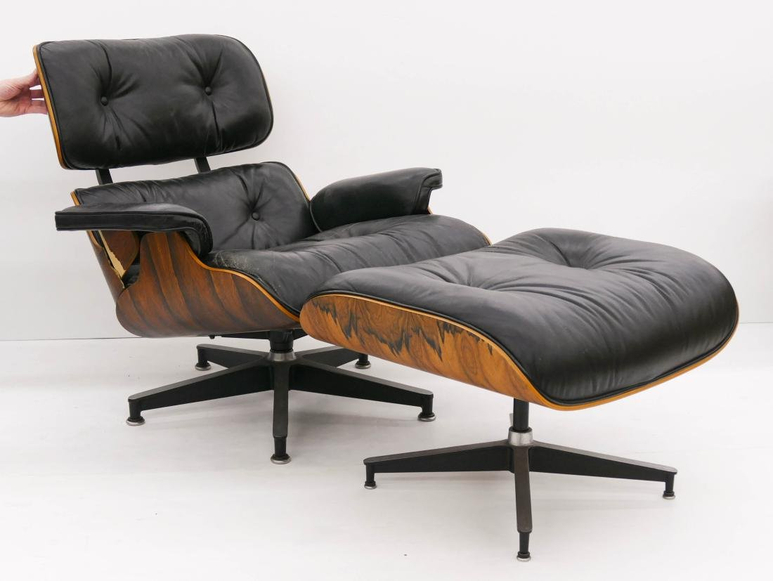 Eames for Herman Miller Rosewood Lounge Chair &