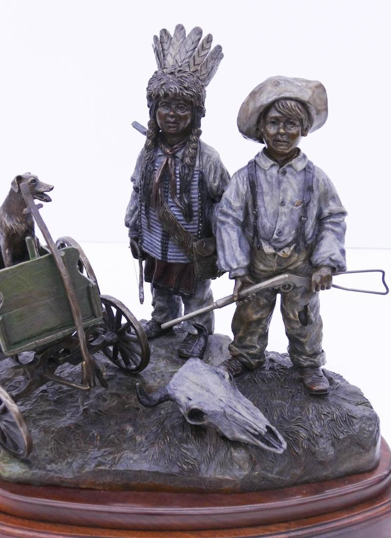 David Manuel (b.1940 Oregon) ''The Buffalo Hunters'' - 2