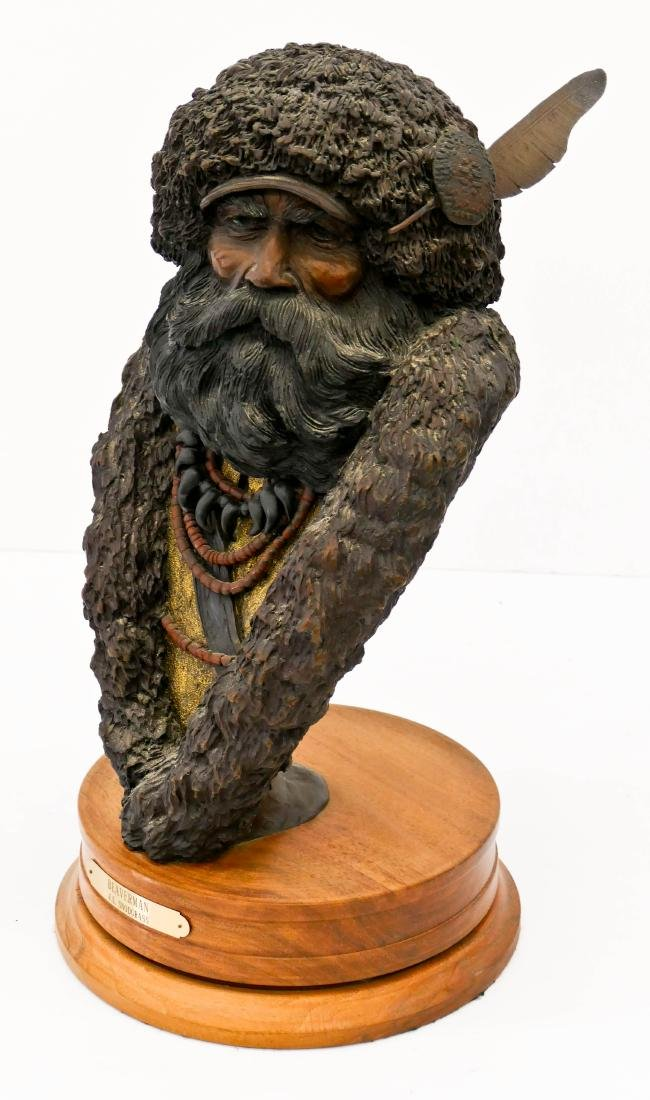 Jerry Snodgrass (b.1929 Idaho) ''Beaverman'' 1990 - 2