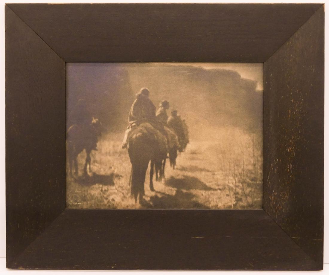 Edward Curtis (1868-1952 Washington) ''The Vanishing - 2