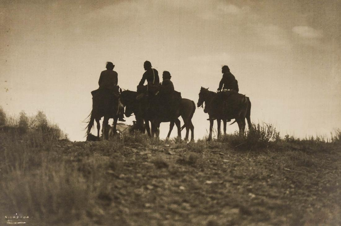 Edward Curtis (1868-1952 Washington) ''Sunset in Navajo