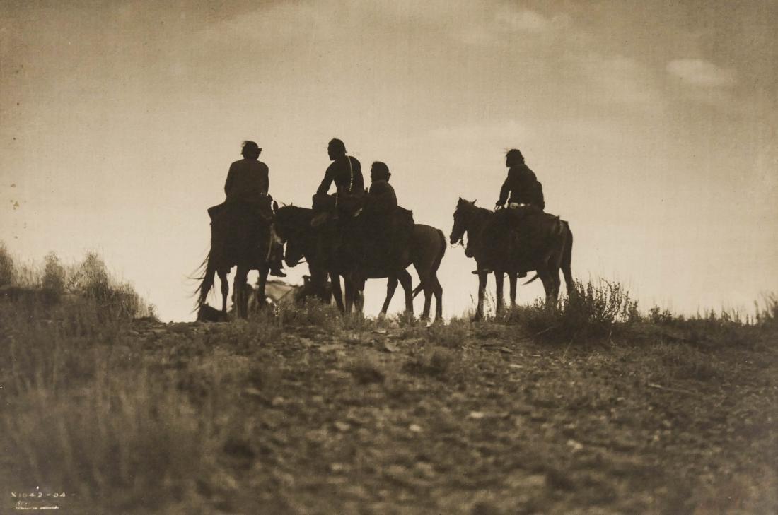 Edward Curtis (1868-1952 Washington) ''Sunset in Navajo