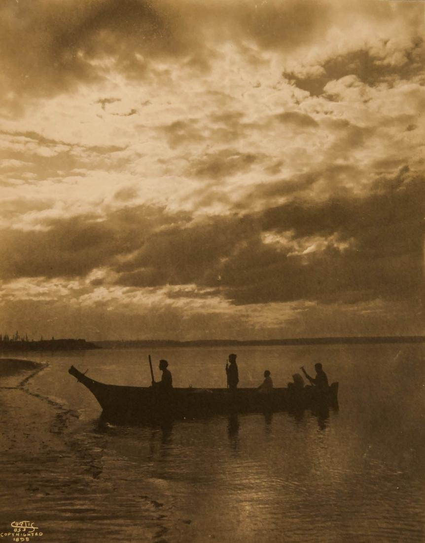 Edward Curtis (1868-1952 Washington) ''Shores of Puget