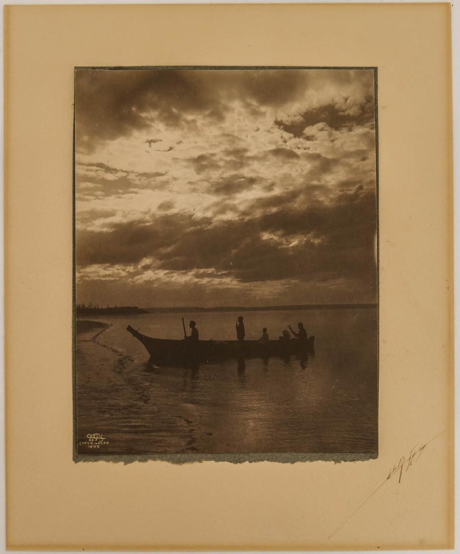 Edward Curtis (1868-1952 Washington) ''Shores of Puget - 2
