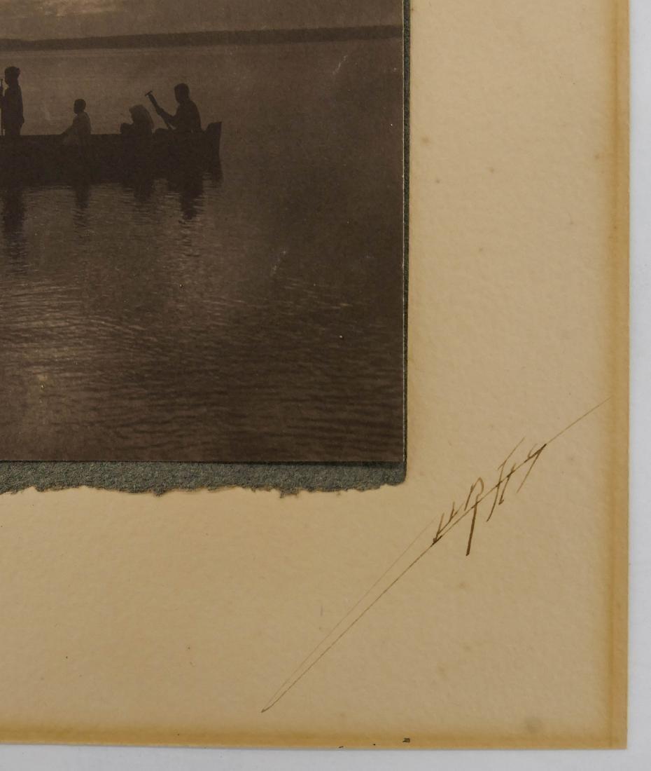 Edward Curtis (1868-1952 Washington) ''Shores of Puget - 3