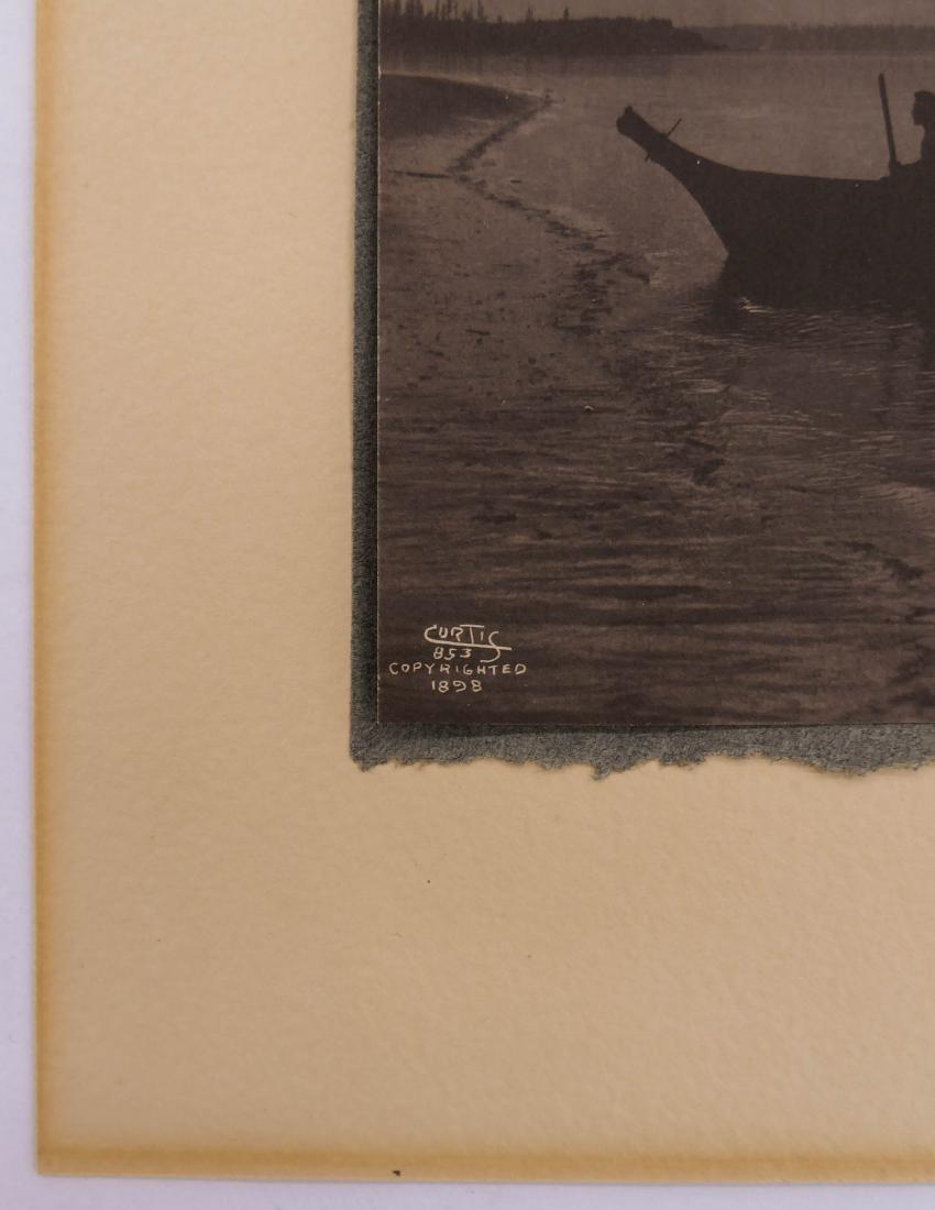 Edward Curtis (1868-1952 Washington) ''Shores of Puget - 4
