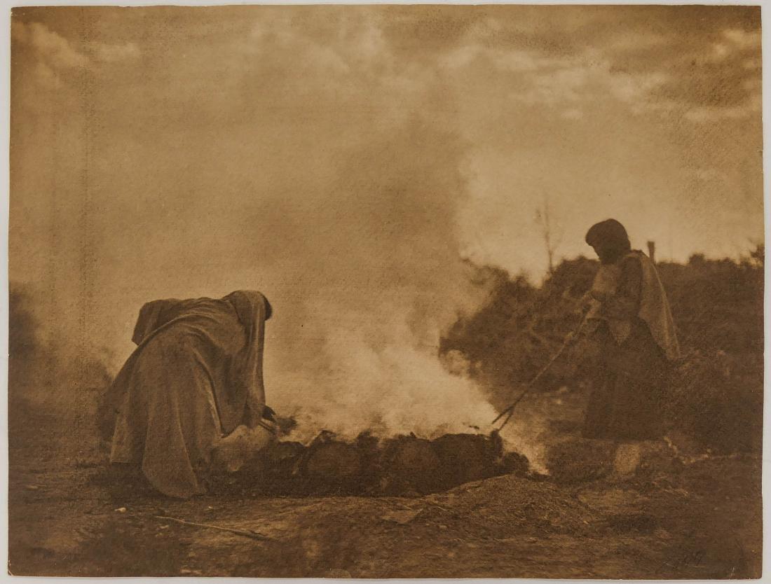 Edward Curtis (1868-1952 Washington) ''Pottery Burners - 2