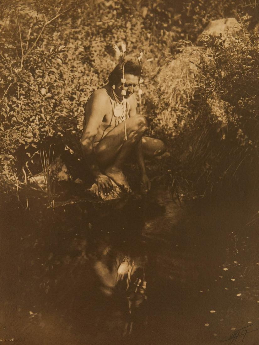 Edward Curtis (1868-1952 Washington) ''Apsaroke Crow''