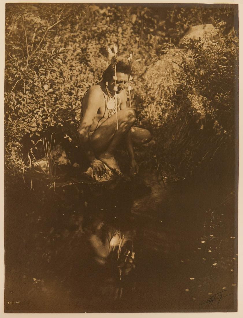 Edward Curtis (1868-1952 Washington) ''Apsaroke Crow'' - 2