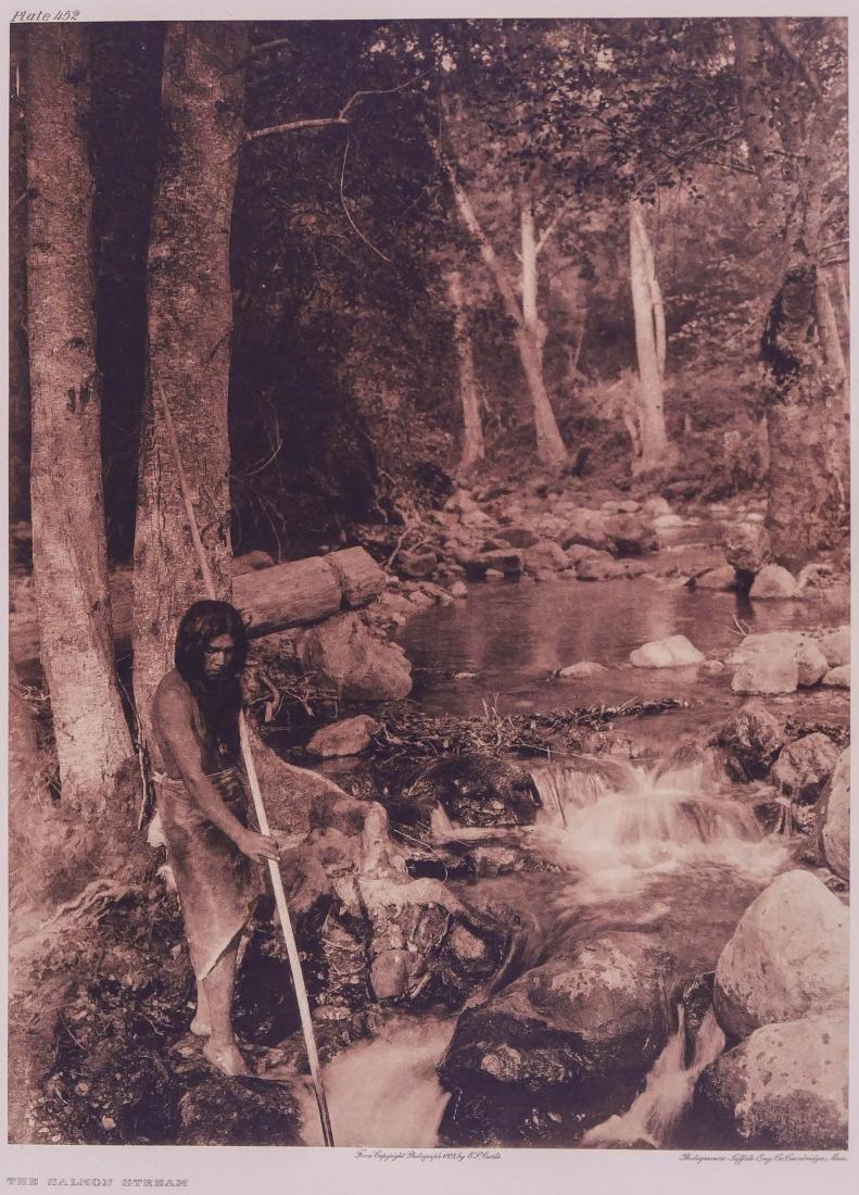 Edward Curtis ''The Salmon Stream'' 1923 Plate 452